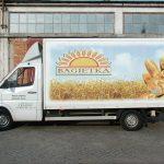 Reklam folie i Polen Stettin